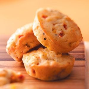Biscuit-y Bell Pepper Muffins