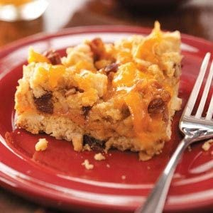 Apple-Cheese Coffee Cake