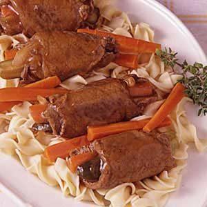 Grandma's Beef Rouladen