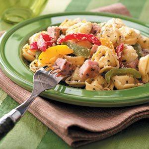 Tortellini and Ham