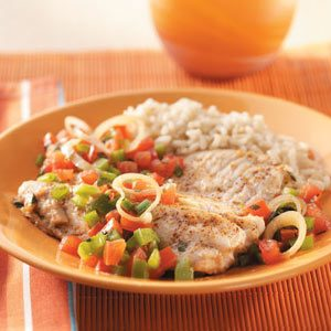 Mediterranean Fish Skillet
