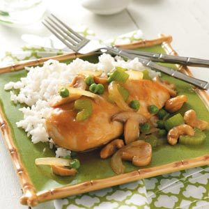 Cashew Chicken for Two
