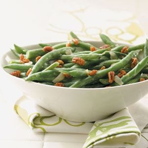Green Beans with Pecans