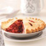 Cherry Rhubarb Pie