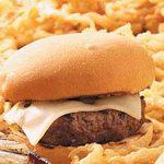 Swiss Steak Burgers for 2