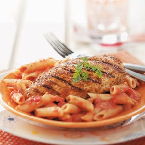 Makeover Cajun Chicken Pasta