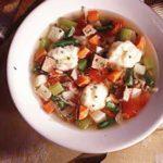 Vegetable Soup with Dumplings
