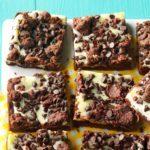 Chocolate Chip Cream Cheese Bars