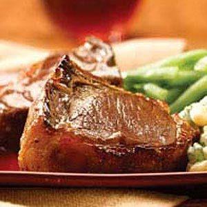 Honey-Glazed Lamb Chops