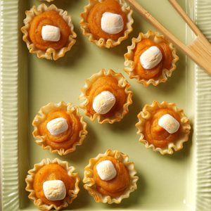 Sweet Potato Tartlets