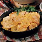 Skillet Squash and Potatoes