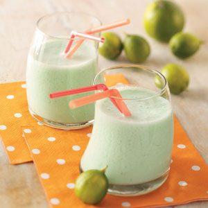 Lime Milk Shakes