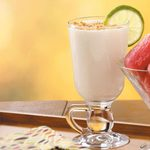 Cool Lime Pie Frappes