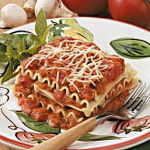 No-Bake Mushroom Lasagna