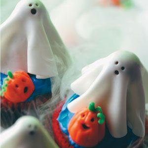 Sugar Ghost Cupcakes