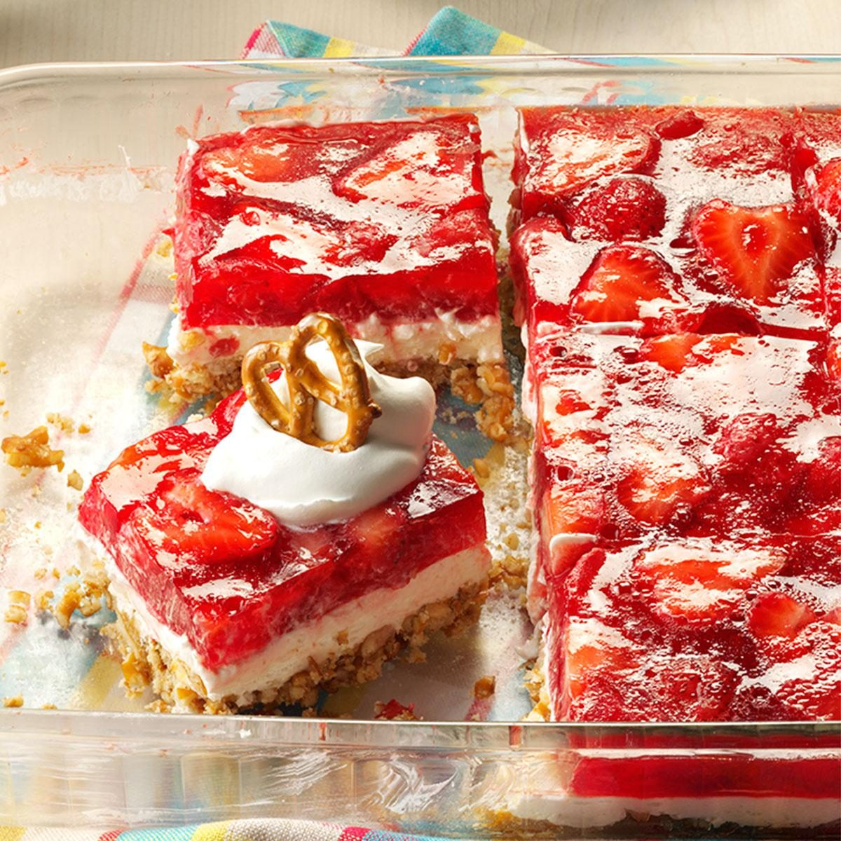 French Cake With Strawberries