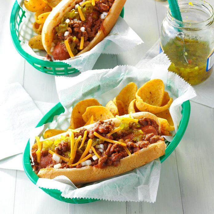 Chili Coney Dogs
