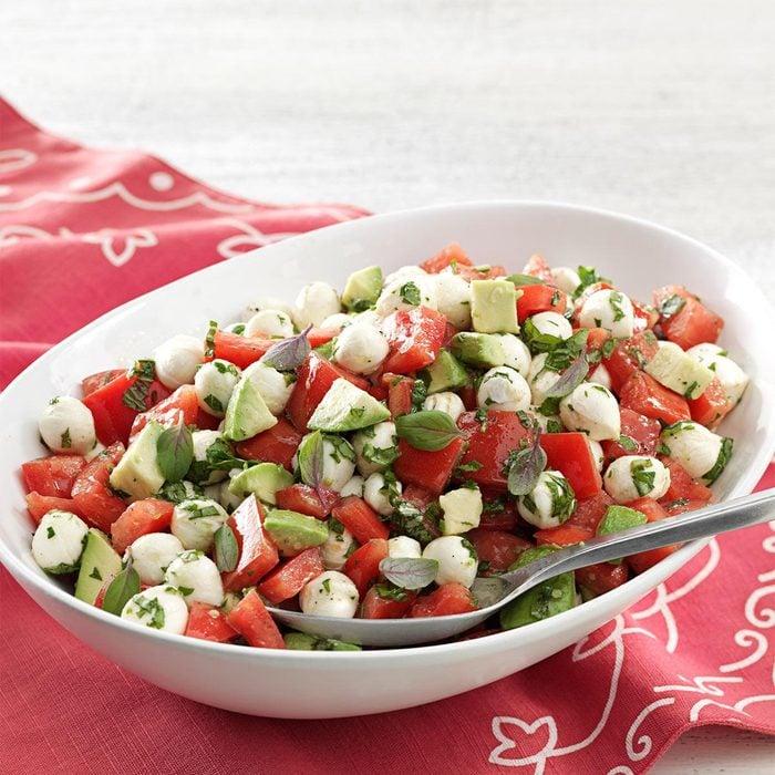 Fresh Mozzarella and Tomato Salad