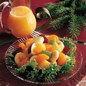 Cooked Fruit Salad Dressing