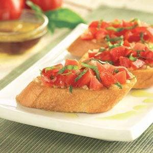 Roma Tomato Bruschetta