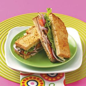 Apricot Turkey Sandwiches