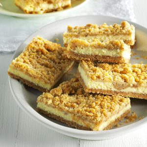 Nutty Cheesecake Squares