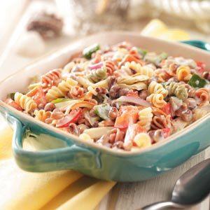 Black-Eyed Pea Pasta Salad