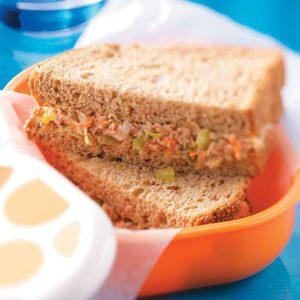 Super-Duper Tuna Sandwiches