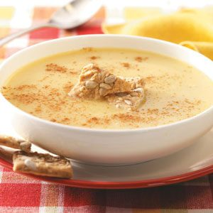 Curried Apple Soup