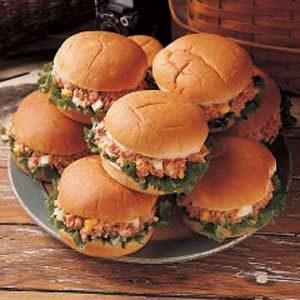 Mock Ham Salad Sandwiches