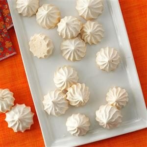 Vanilla Meringue Cookies
