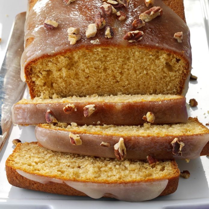 New Hampshire: Glazed Spiced Rum Pound Cakes