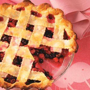Cherry-Berry Fruit Pie