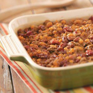 Cherry Baked Beans