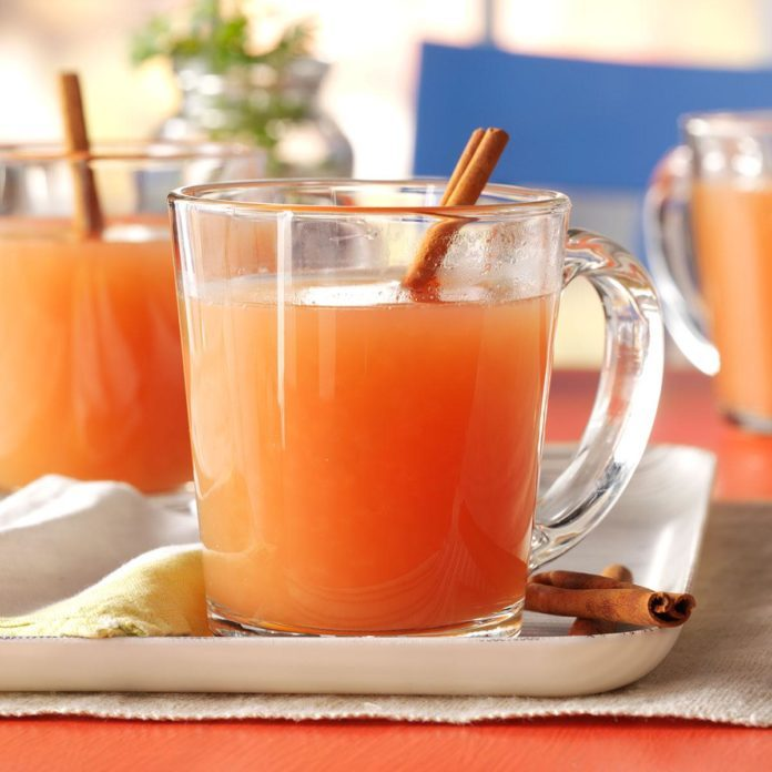 Hot Holiday Cider