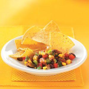 Presto Black Bean & Corn Salsa