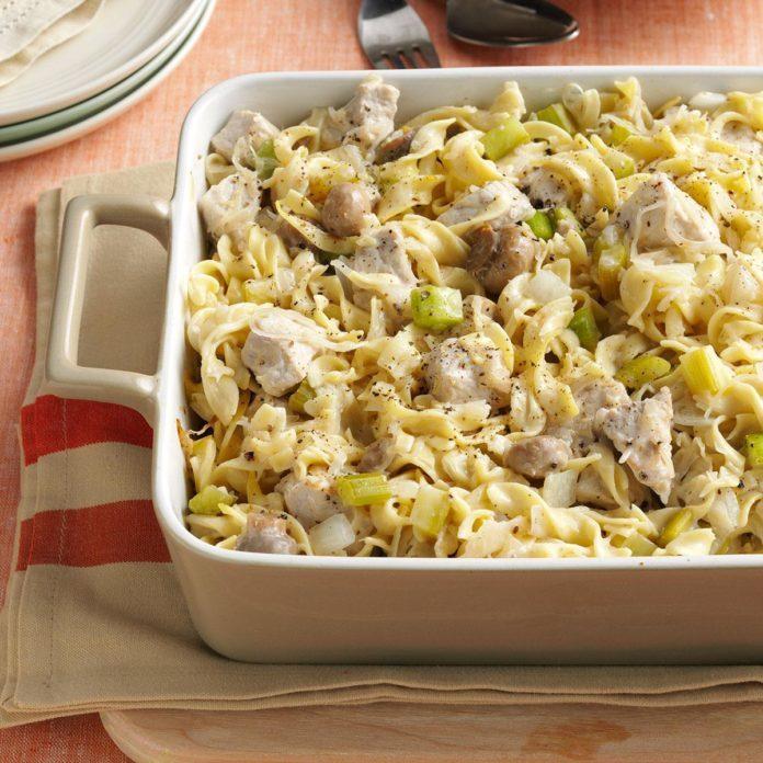 #13: Sauerkraut Hot Dish