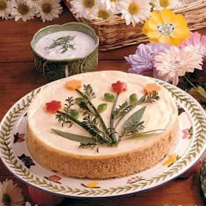 Layered Vegetable Cheesecake