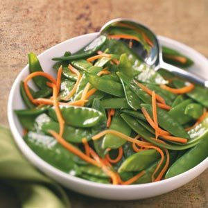 Snow Pea & Carrot Saute