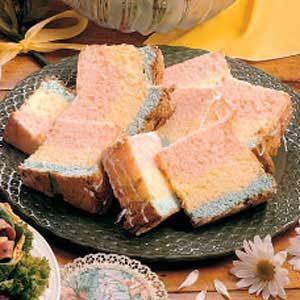 Rainbow Angel Food Cake