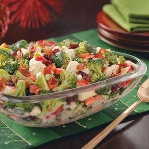 Broccoli-Apple Salad with Bacon