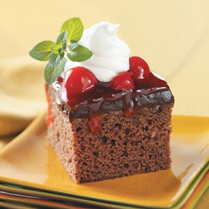 Light Black Forest Dessert