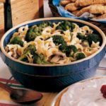 Broccoli Noodle Side Dish