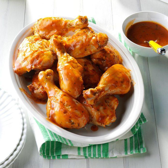 8: Slow Cooker BBQ Chicken
