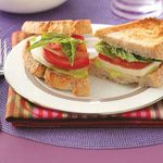 Fresh Mozzarella Sandwiches for 2