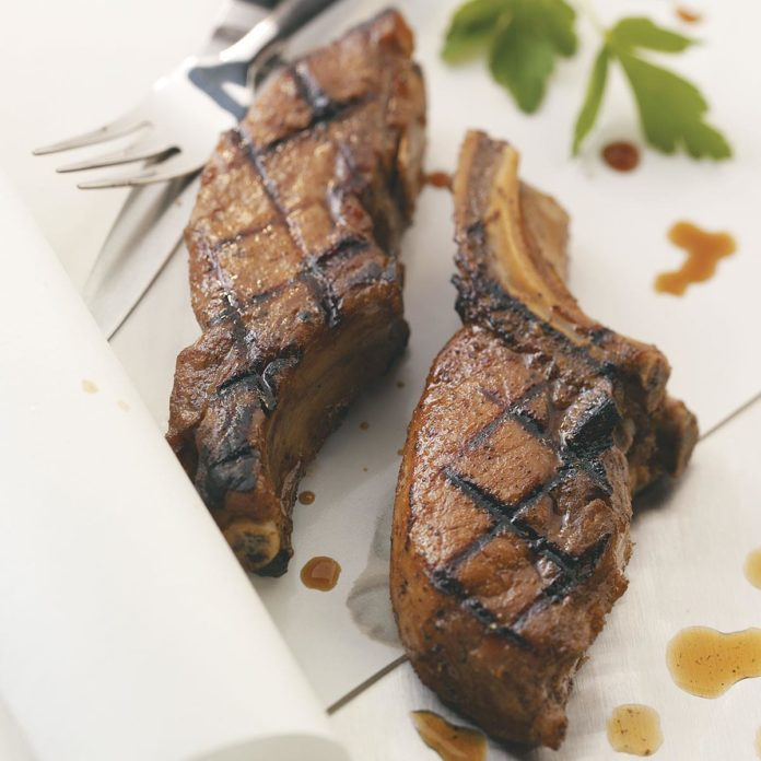 Grilled Country-Style Ribs for 2