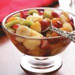 Fruit Salad with Vanilla
