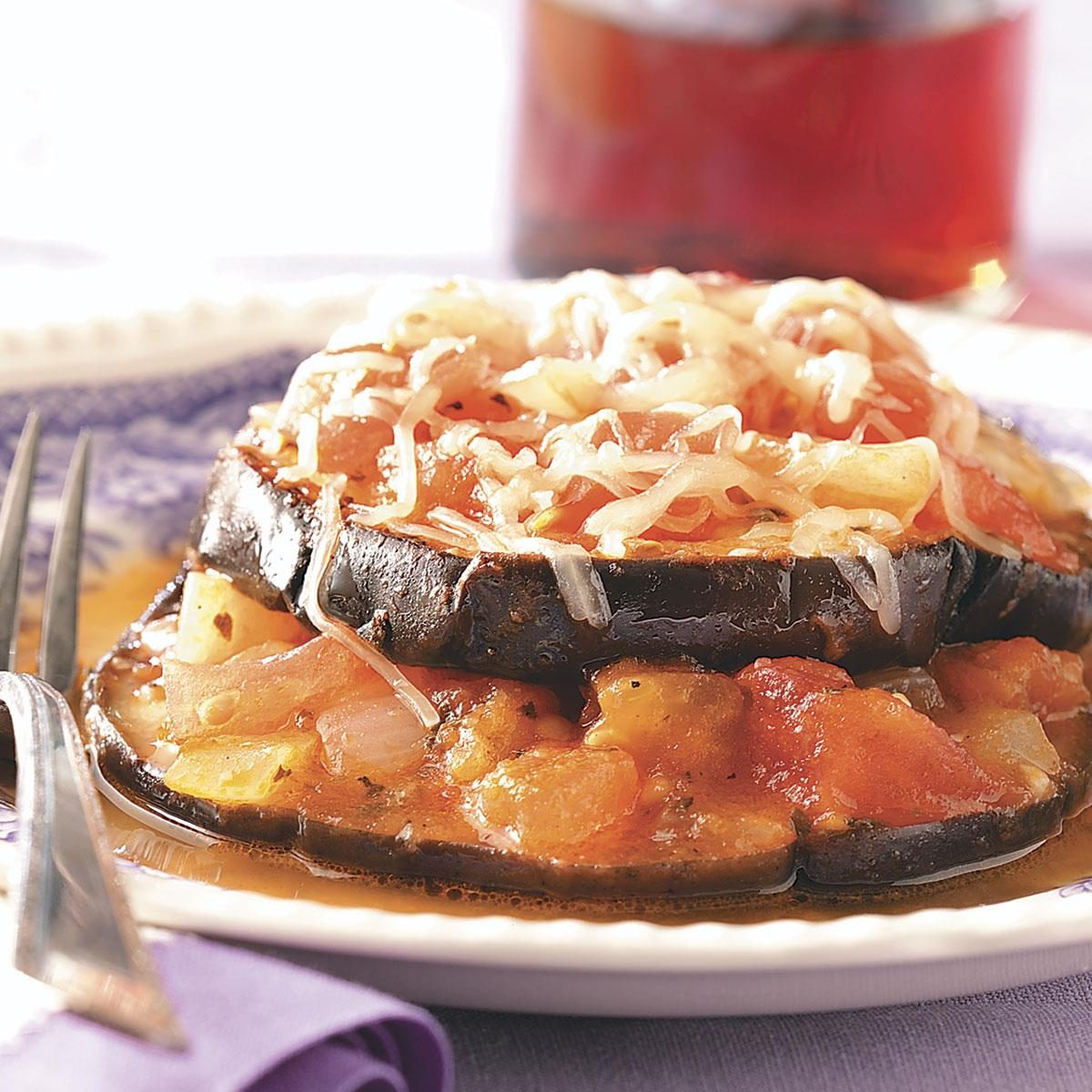 Eggplant Stacks Recipe How To Make It Taste Of Home