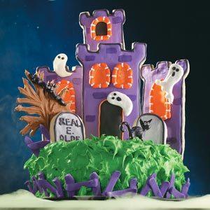Prime Haunted Castle Cake Recipe Taste Of Home Funny Birthday Cards Online Inifofree Goldxyz