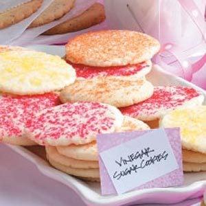 Vinegar Sugar Cookies